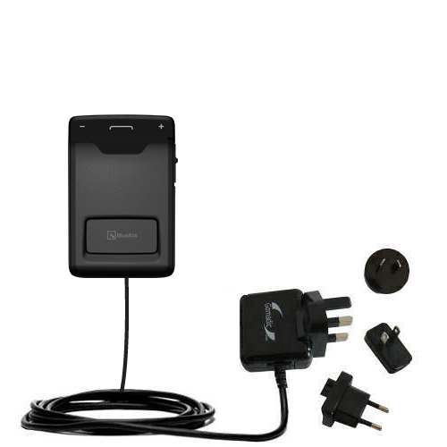 International Wall Charger compatible with the BlueAnt Sense Speakerphone