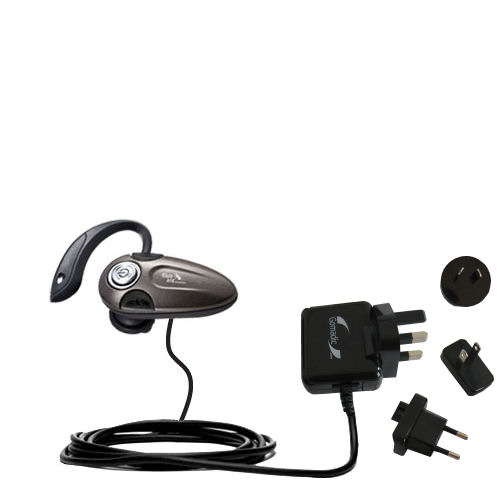International Wall Charger compatible with the BlueAnt T8 micro