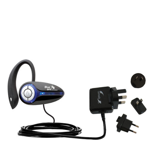 International Wall Charger compatible with the BlueAnt X3 micro