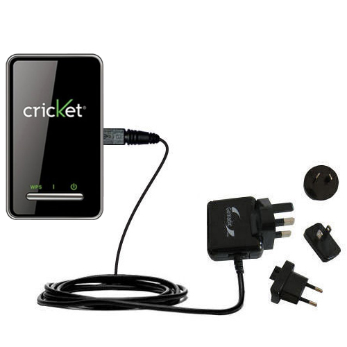 International Wall Charger compatible with the Cricket Crosswave WiFi Hotspot