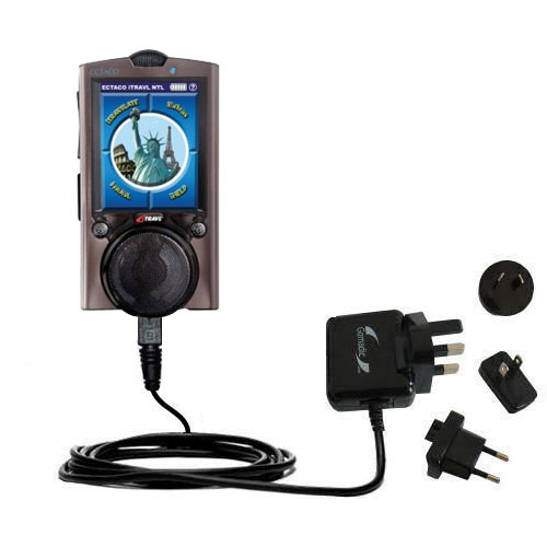 International Wall Charger compatible with the ECTACO iTRAVL Series