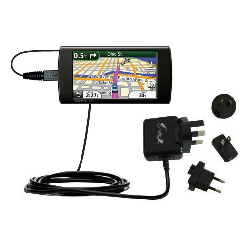 International Wall Charger compatible with the Garmin 295W