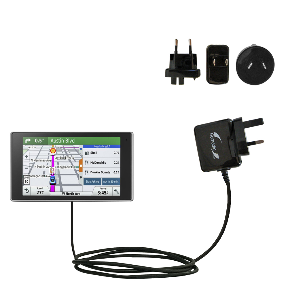International Wall Charger compatible with the Garmin DriveSmart 50LMTHD