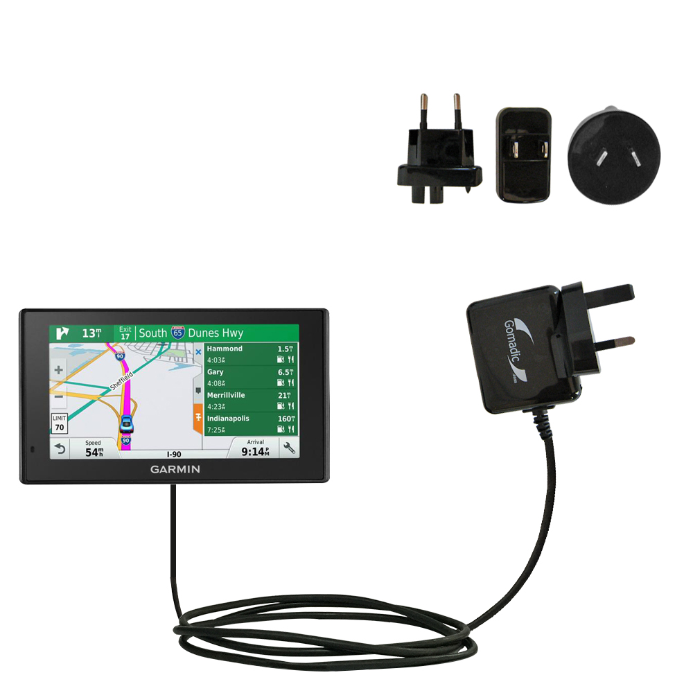 International Wall Charger compatible with the Garmin DriveSmart 70LMT
