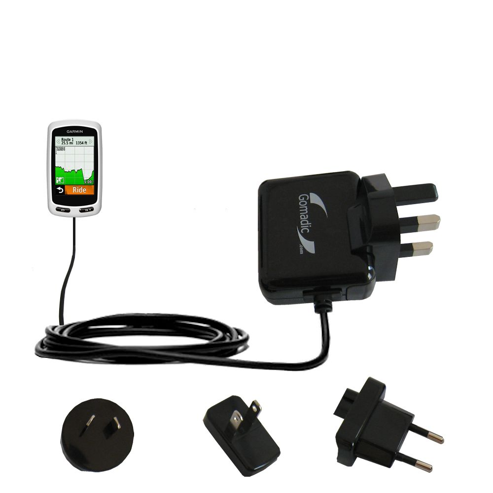 International Wall Charger compatible with the Garmin Edge 1000