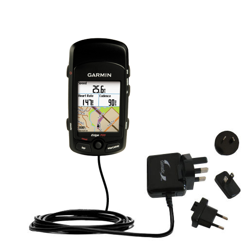 International Wall Charger compatible with the Garmin Edge 705
