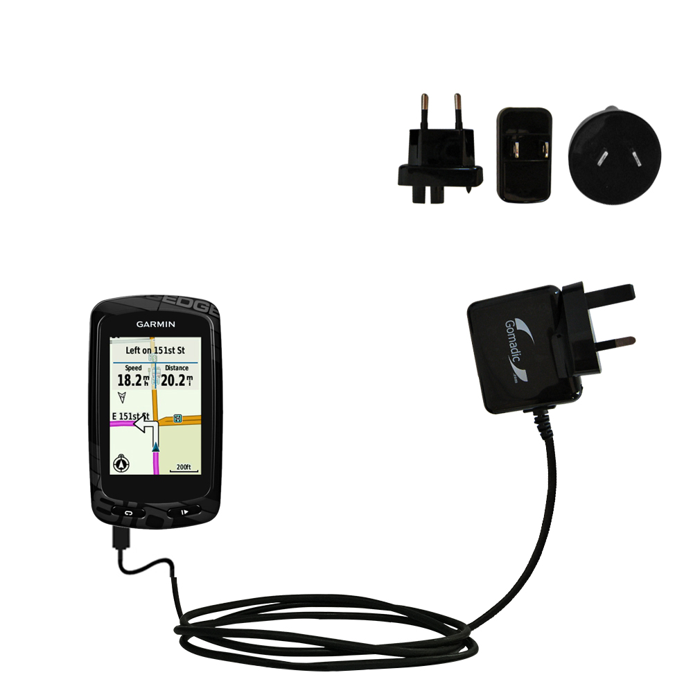 International Wall Charger compatible with the Garmin EDGE 810