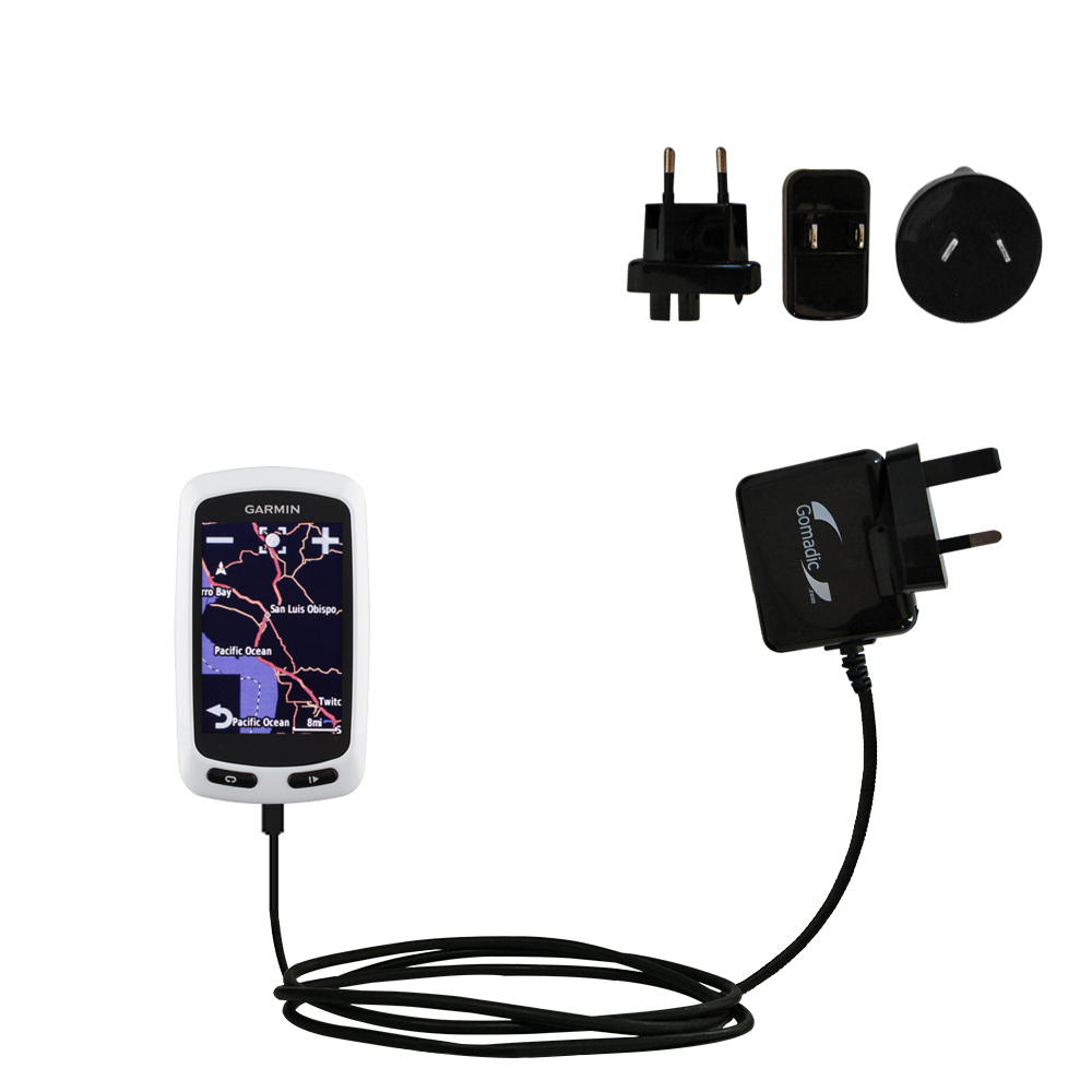 International Wall Charger compatible with the Garmin EDGE Touring