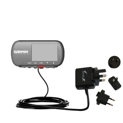 International Wall Charger compatible with the Garmin Forerunner 301
