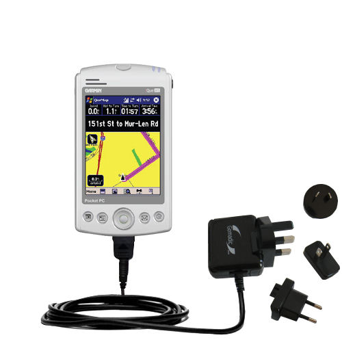 International Wall Charger compatible with the Garmin iQue M3