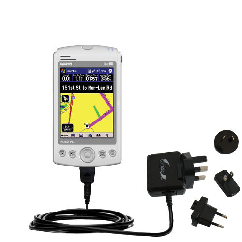 International Wall Charger compatible with the Garmin iQue M5
