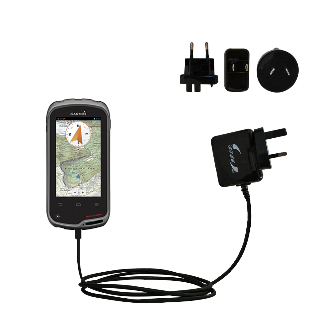 International Wall Charger compatible with the Garmin Monterra