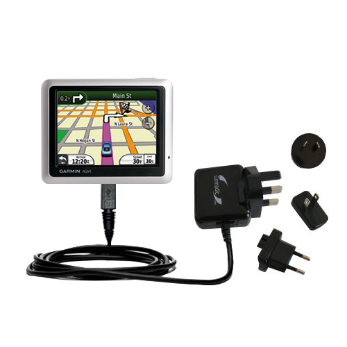 International Wall Charger compatible with the Garmin Nuvi 1200 1210