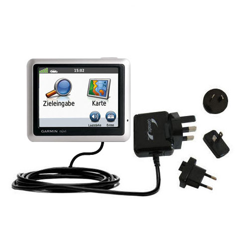 International Wall Charger compatible with the Garmin Nuvi 1240