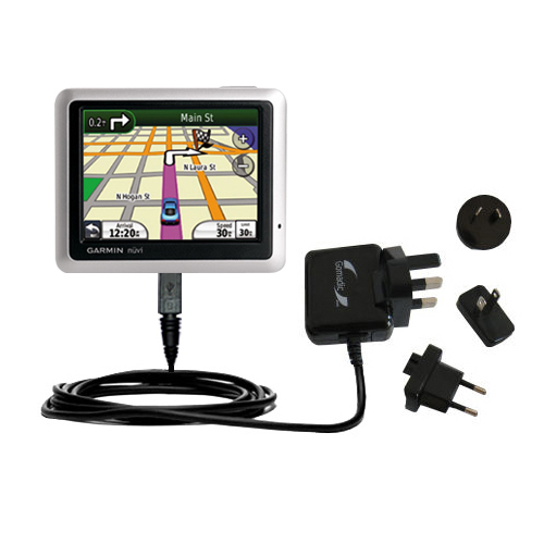 International Wall Charger compatible with the Garmin Nuvi 1250