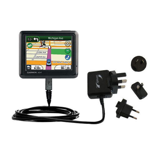 International Wall Charger compatible with the Garmin Nuvi 1260T