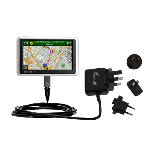 International Wall Charger compatible with the Garmin Nuvi 1300
