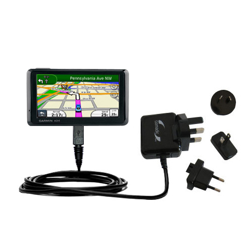 International Wall Charger compatible with the Garmin Nuvi 1390T