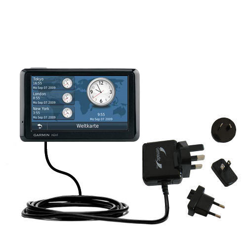 International Wall Charger compatible with the Garmin Nuvi 1390Tpro