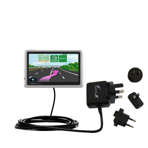 International Wall Charger compatible with the Garmin Nuvi 1450