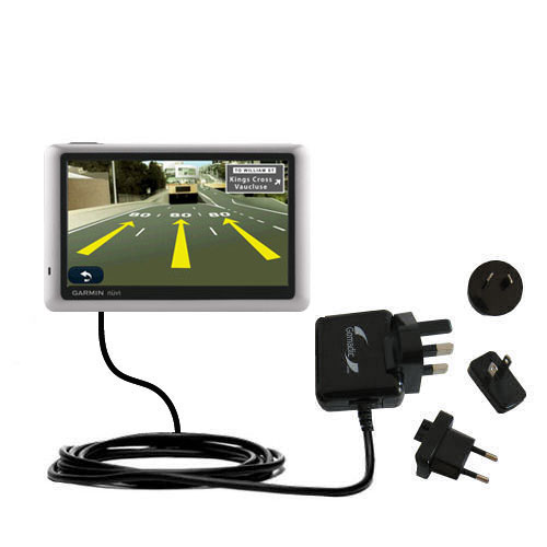 International Wall Charger compatible with the Garmin Nuvi 1450T