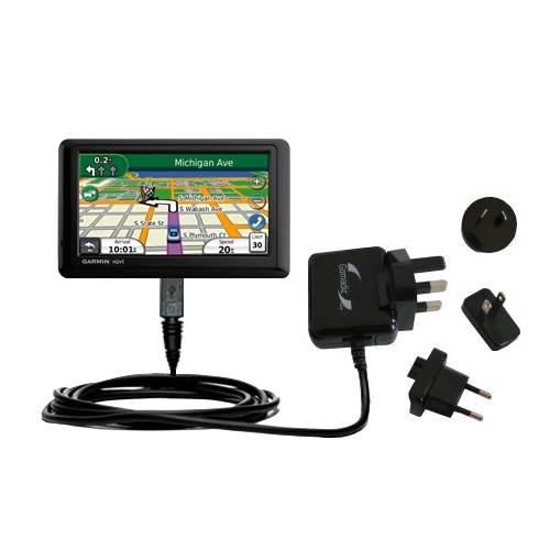 International Wall Charger compatible with the Garmin Nuvi 1490T