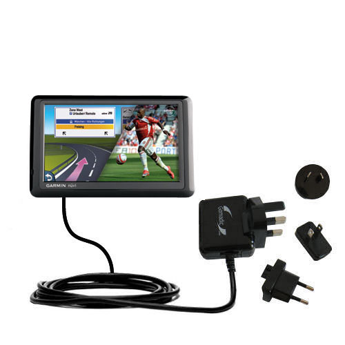 International Wall Charger compatible with the Garmin Nuvi 1490Tpro