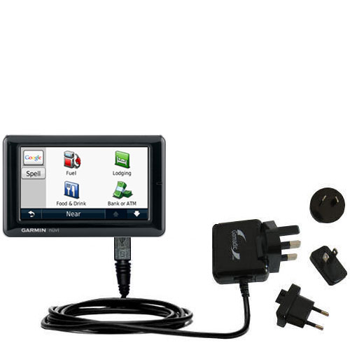 International Wall Charger compatible with the Garmin Nuvi 1690 1695