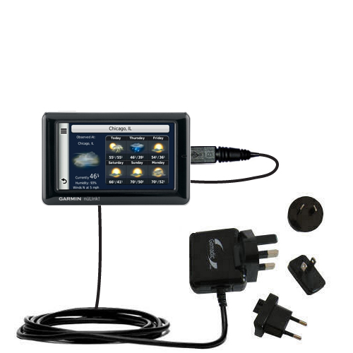 International Wall Charger compatible with the Garmin Nuvi 1695