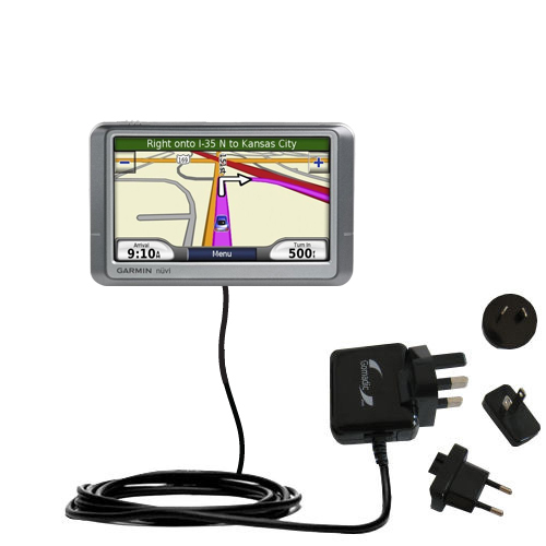 International Wall Charger compatible with the Garmin Nuvi 205W