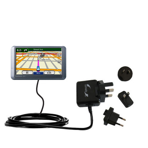International Wall Charger compatible with the Garmin nuvi 205WT