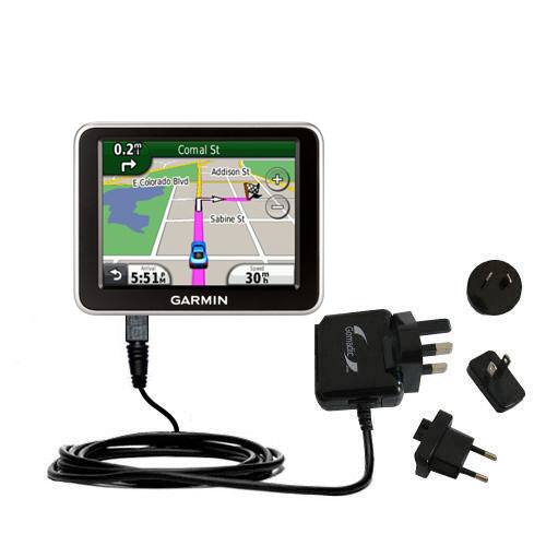 International Wall Charger compatible with the Garmin Nuvi 2200 2240 2250