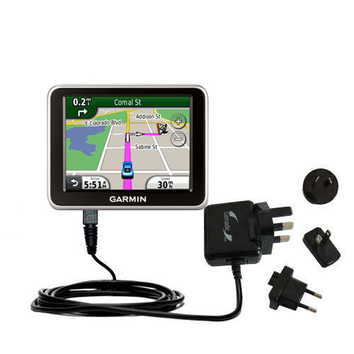 International Wall Charger compatible with the Garmin Nuvi 2250