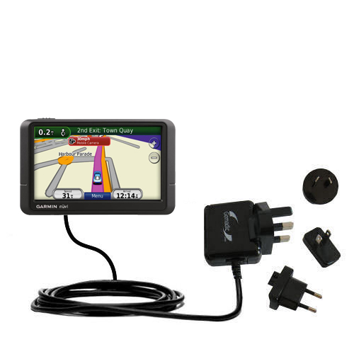 International Wall Charger compatible with the Garmin Nuvi 245 245T 245WT