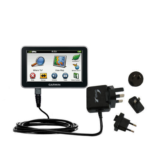 International Wall Charger compatible with the Garmin Nuvi 2460 2450