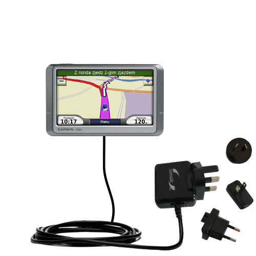 International Wall Charger compatible with the Garmin Nuvi 250 250W 250WT
