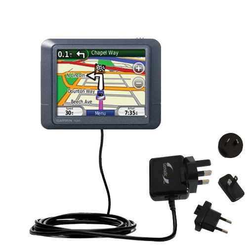 International Wall Charger compatible with the Garmin Nuvi 255