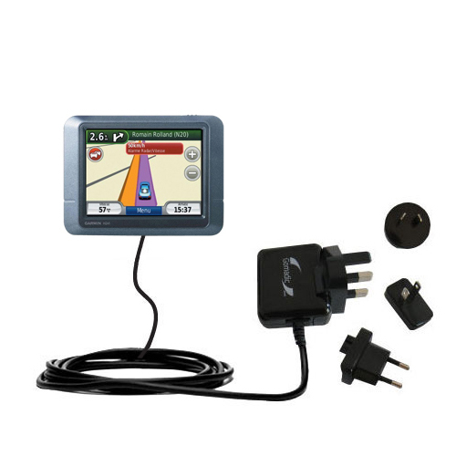 International Wall Charger compatible with the Garmin nuvi 255T