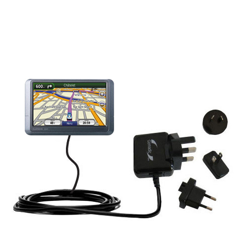 International Wall Charger compatible with the Garmin nuvi 255WT