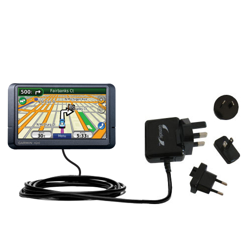 International Wall Charger compatible with the Garmin Nuvi 265WT 265T
