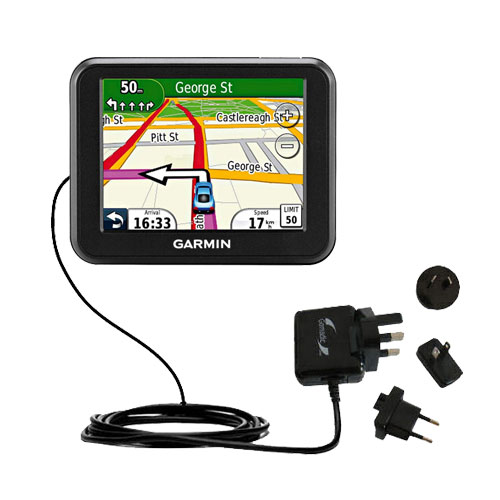 International Wall Charger compatible with the Garmin Nuvi 30