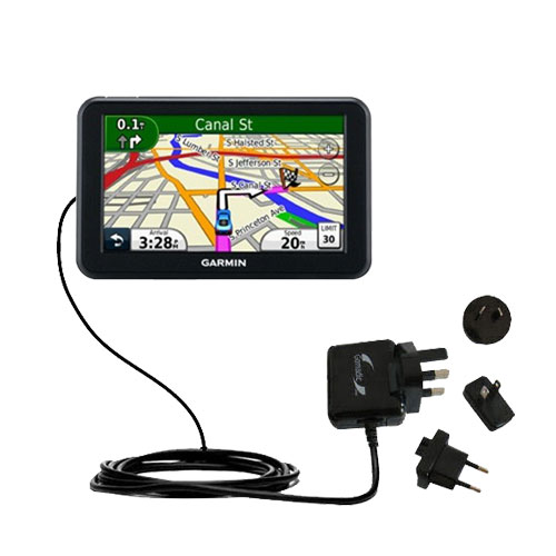 International Wall Charger compatible with the Garmin Nuvi 3450 3450LM