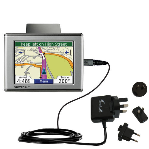 International Wall Charger compatible with the Garmin Nuvi 350