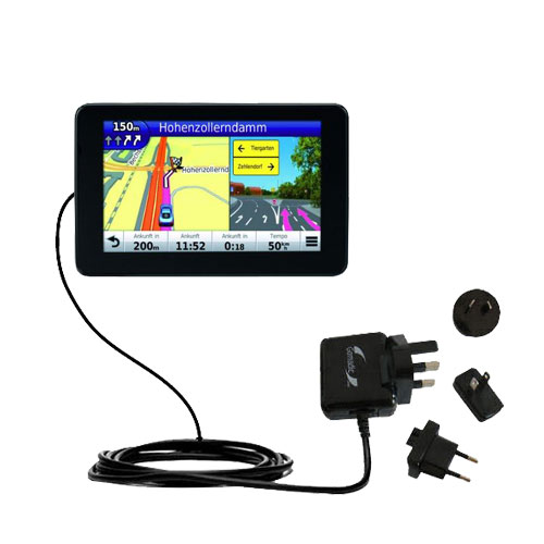 International Wall Charger compatible with the Garmin Nuvi 3590 3590LMT