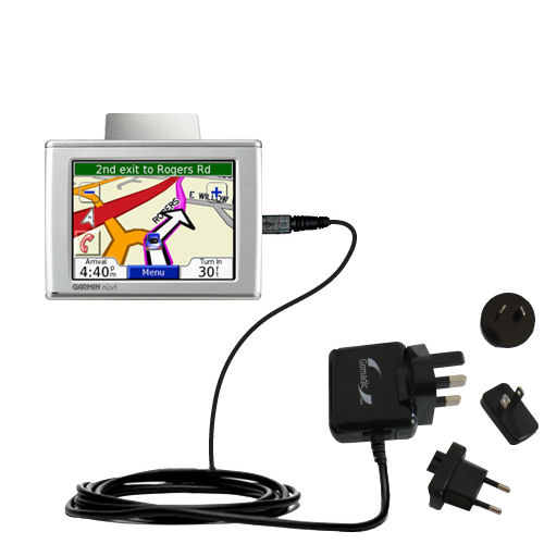 International Wall Charger compatible with the Garmin Nuvi 360
