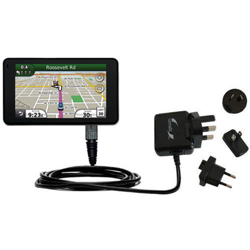 International Wall Charger compatible with the Garmin Nuvi 3760T