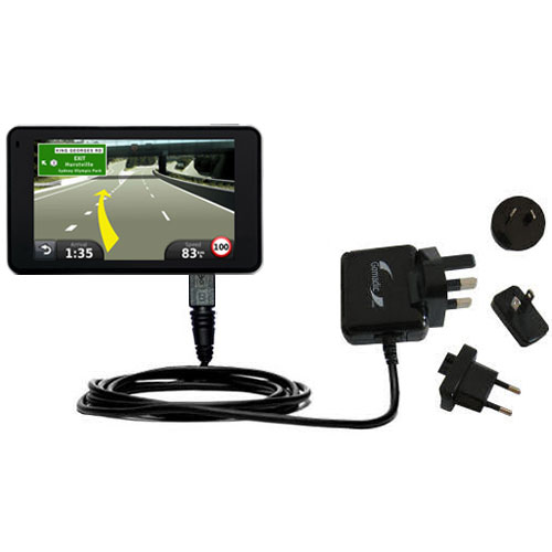 International Wall Charger compatible with the Garmin Nuvi 3790T 3790LMT