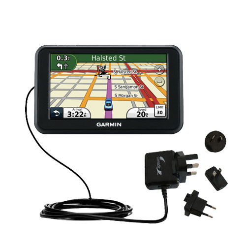 International Wall Charger compatible with the Garmin Nuvi 40 40LM