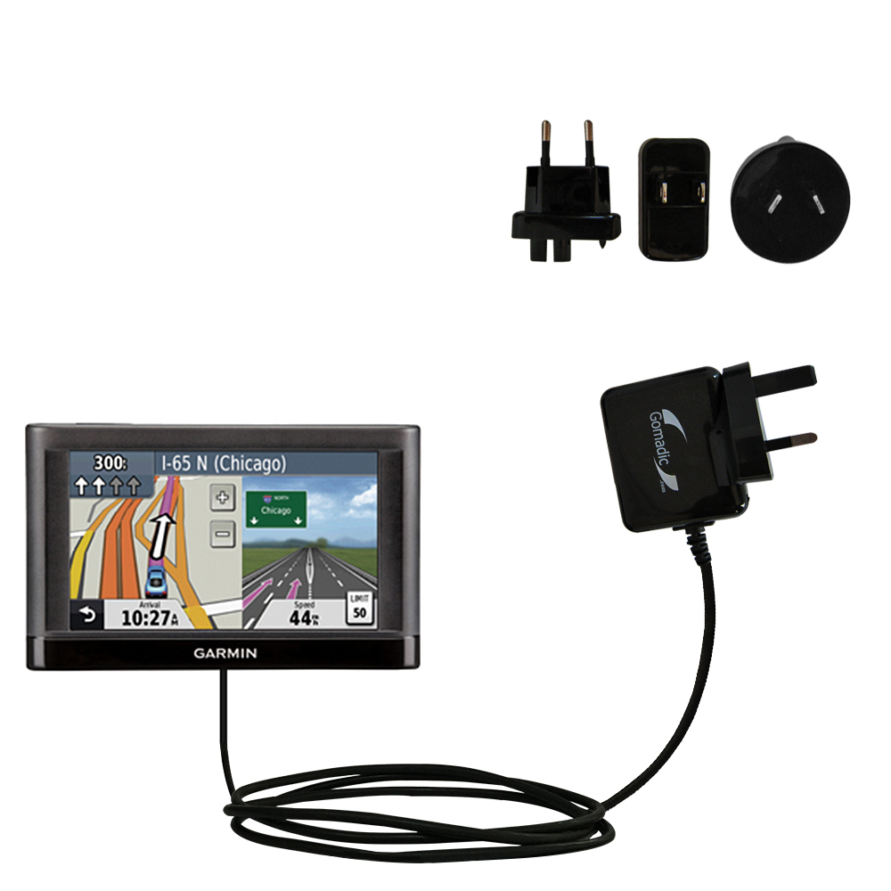 International Wall Charger compatible with the Garmin nuvi 44