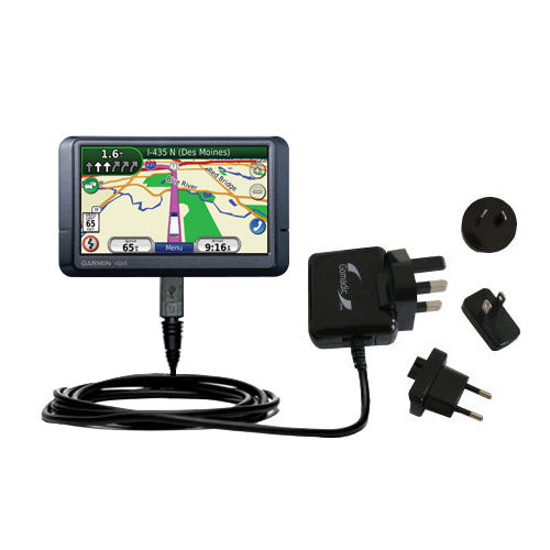 International Wall Charger compatible with the Garmin Nuvi 465T 465LMT